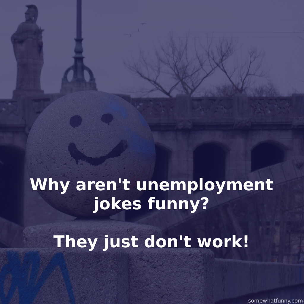 Why aren't unemploym...