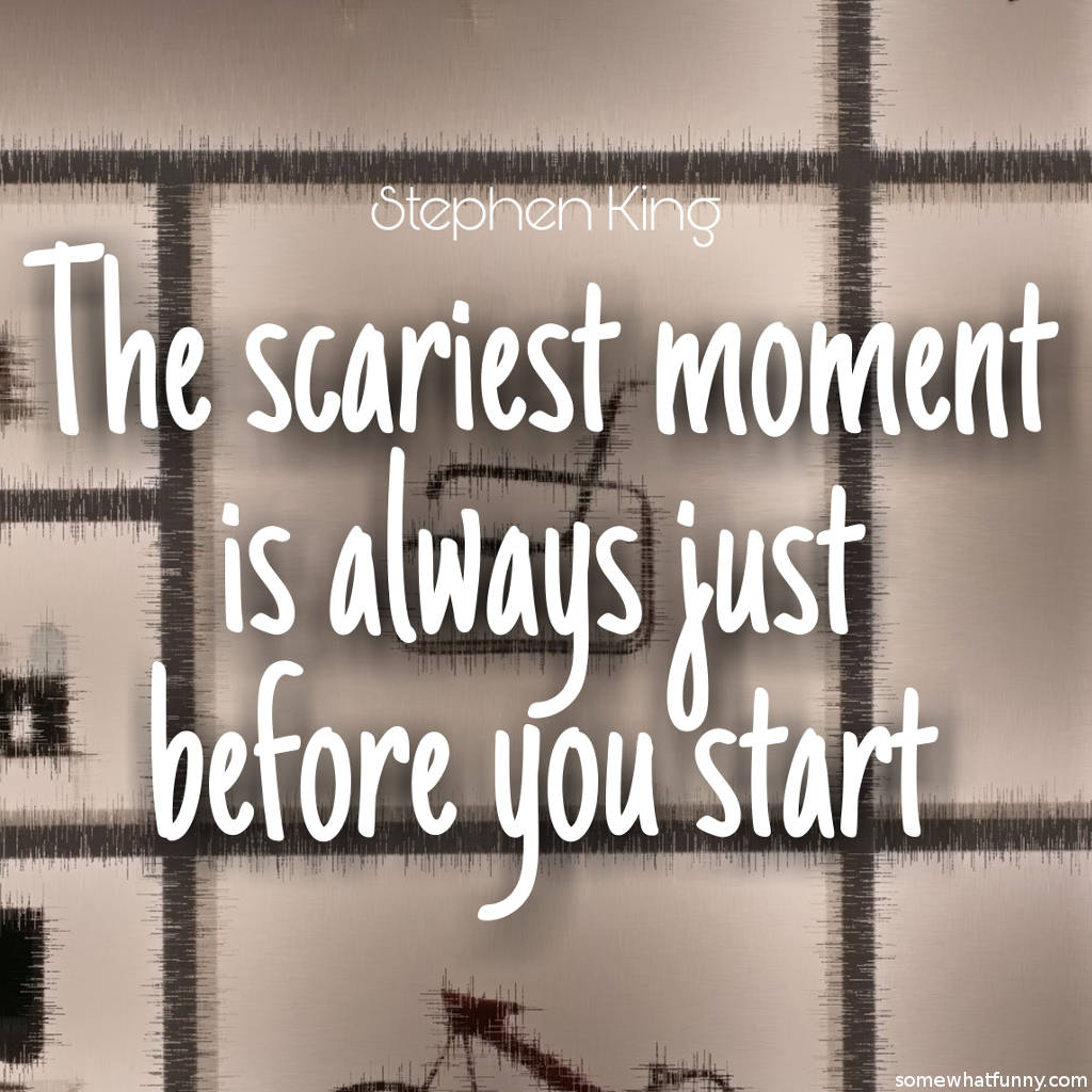 The scariest moment...