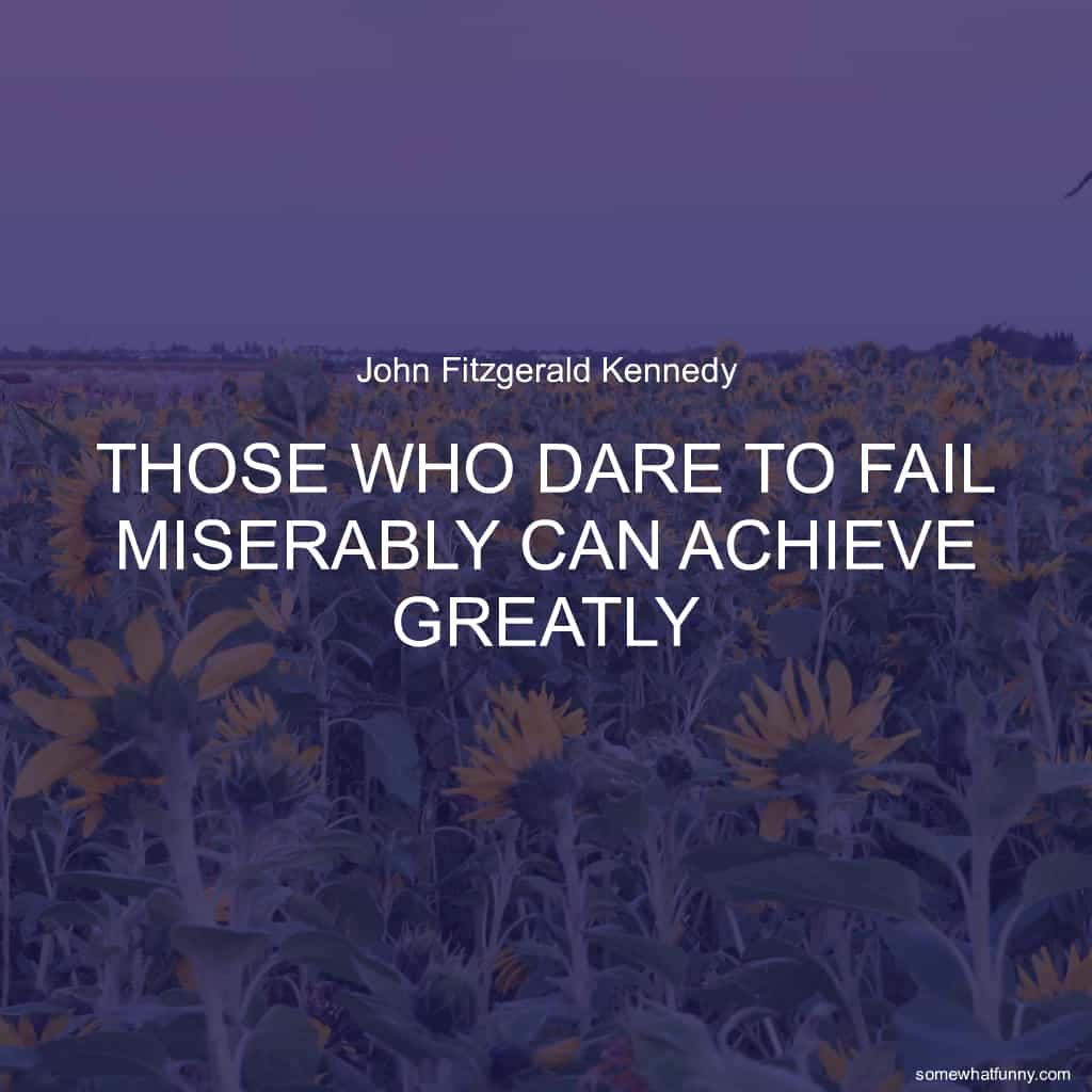 Those who dare to fa...